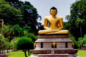Parque Viharamahadevi, el pulmón verde de Colombo