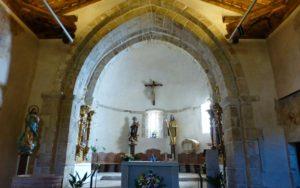 Cabecera de la Iglesia de Santo Domingo de Silos