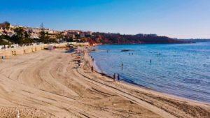 Playa Calas de Aguamarina