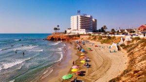 Cala Cerrada, una de las playas de La Zenia