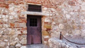 Representación del calabozo donde estuvo encerrado el arcipreste de Hita
