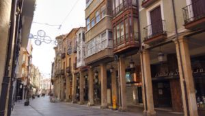 Calle Mayor de Palencia
