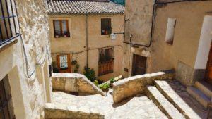 Calle de les Voltes, una de las más pintorescas de Bocairente