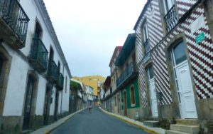 Calles del casco histórico de Finisterre