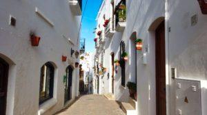 Calles de Mojácar, uno de los pueblos más bonitos de España