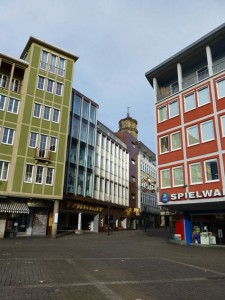 Calles del casco histórico de Stuttgart
