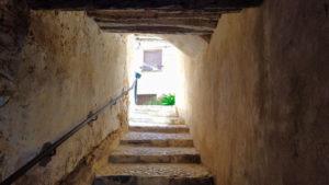 Calzada Excusada, uno de los antiguos accesos de la muralla