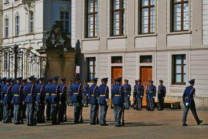 Ceremonia del cambio de guardia del Castillo de Praga
