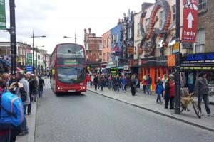 Camden High Street, una de las calles más coloridas del barrio