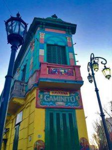Calle Caminito en La Boca