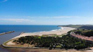 Camping El Rosal junto a la playa de San Vicente de la Barquera