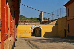 Entrada al Campo de Concentración de Terezín