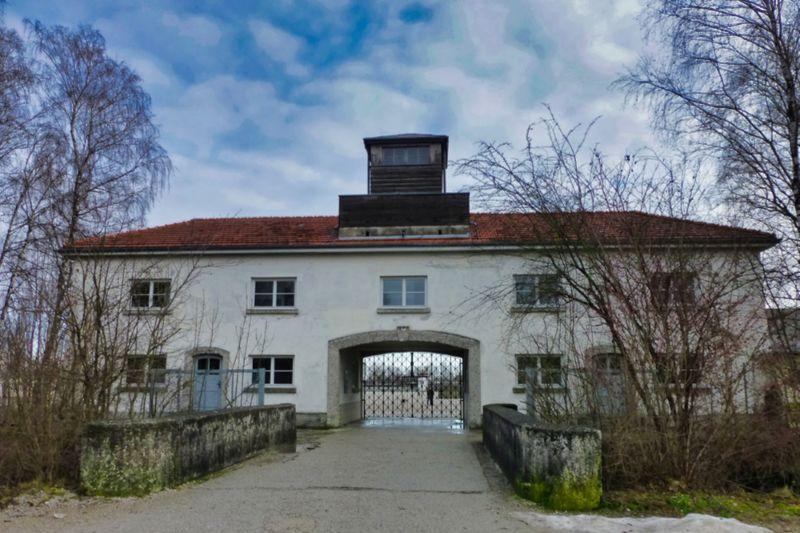 Entrada al Campo de Concentración de Dachau