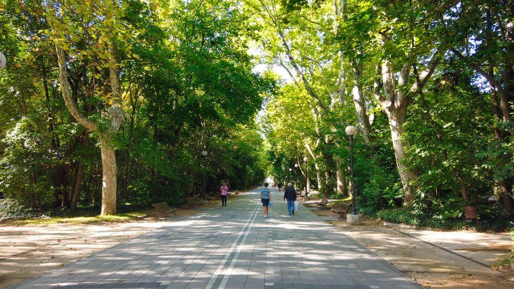 Campo Grande, la más visitada de las atracciones de Valladolid