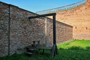 Patíbulo del Campo de Concentración de Terezín