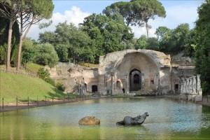 Canopus en la Villa Adriana. Foto de Jean-Pierre Dalbéra