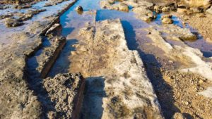 Antigua cantera romana cercana a la Playa del Río