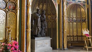Mausoleo de Miecislao I en la Capilla Dorada o Capilla Real de Poznan