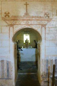 Interior de la Capilla del Salvador