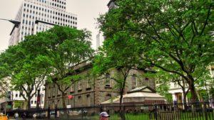 Capilla de St. Paul en Nueva York