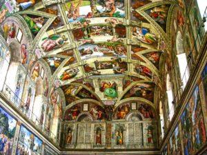 Capilla Sixtina, la estancia más famosa de los Museos Vaticanos