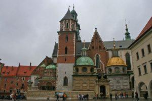 Capillas y torres de la Catedral de Cracovia