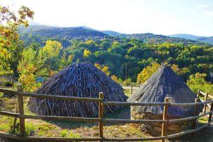 Carbonera tradicional de La Hiruela
