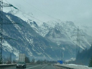 Carreteras del Tirol, una de las muchas formas de llegar a Innsbruck