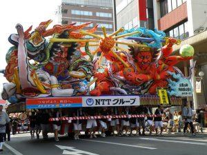 Aomori Nebuta Matsuri, uno de los festivales más famosos de Japón