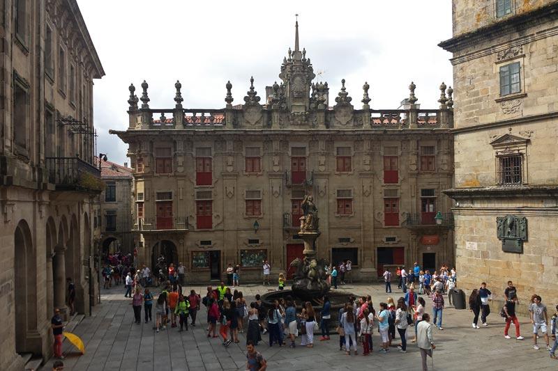 Edificios civiles de Santiago de Compostela