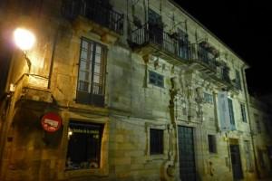 Casa del Deán, uno de los más destacados edificios civiles de Santiago de Compostela