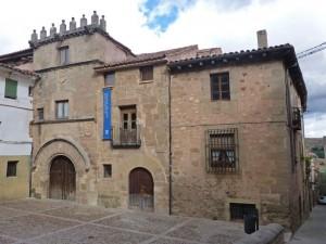 Casa del Doncel, principal monumento civil de Sigüenza
