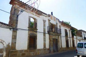 Casa Grande de Belalcázar, aunque en ruinas su fachada aún cuenta su noble historia