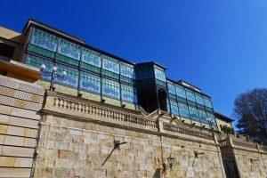 Fachada sur de la Casa Lis de Salamanca