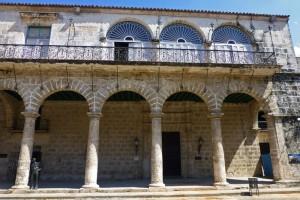 Palacio del Marqués de Arcos en la Plaza de la Catedral de La Habana
