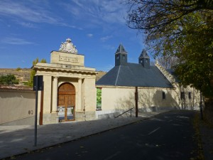 Entrada a la Real Casa de la Moneda de Segovia