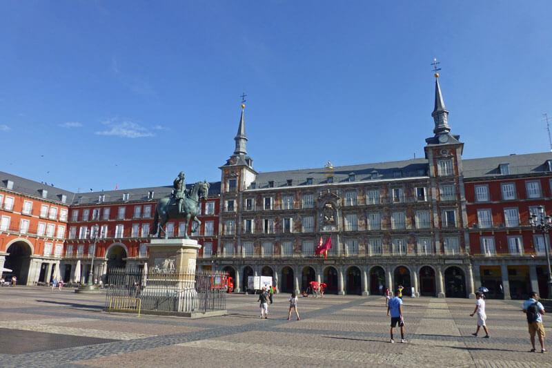 Plaza Mayor de Madrid, una de las más emblemáticas de la ciudad