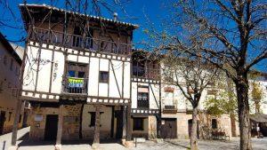 Casa de Doña Sancha, principal muestra de la arquitectura popular de Covarrubias