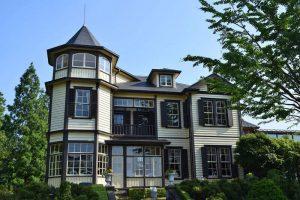 Diplomat's House en el barrio Yamate de Yokohama