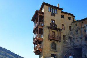 Casa de la Sirena, una de las famosas Casas Colgadas de Cuenca