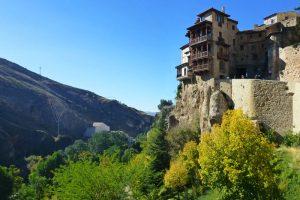 Casas Colgadas de Cuenca sobre la hoz del río Huécar
