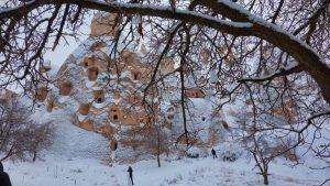 Casas cueva típicas de la Capadocia