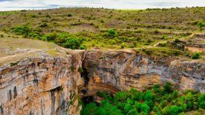 Cascada de Gollorio, uno de los principales puntos de interés del Barranco del Río Dulce