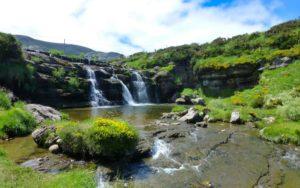 Cascada de Guarguero, también llamada Cascada de los Atrancos