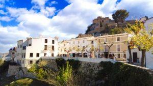 Casco antiguo de Guadalest, epicentro de las fiestas populares
