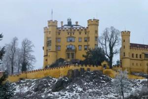 El Castillo de Hohenschwangau fue la residencia durante la infancia del Rey Loco