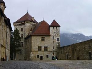 Castillo de Annecy, antigua residencia de nobles