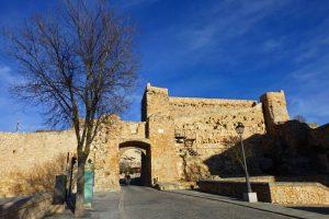 Arco de Bezudo y restos del Castillo de Cuenca