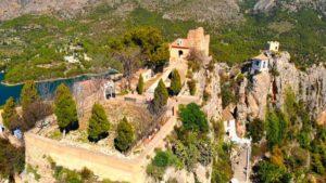 Castillo de San José, ubicado en el punto más alto de Guadalest