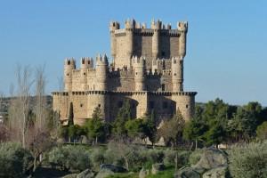 Castillo de Guadamur, uno de los más bellos de la provincia de Toledo